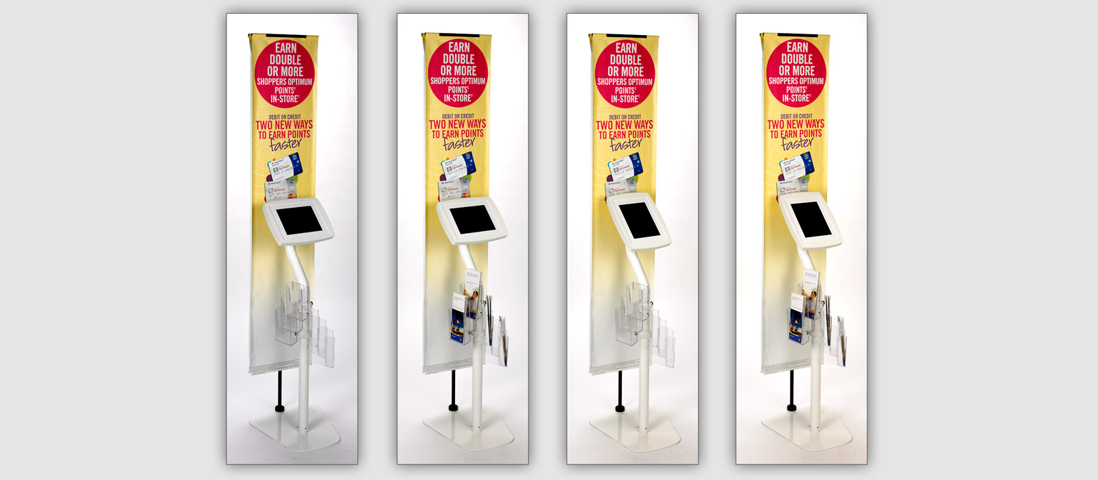 Tablet Banner Stand