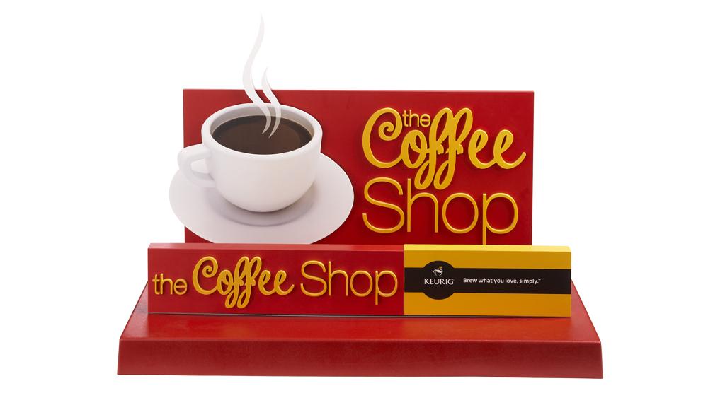 TI Group - Retail POP - Coffee Shop