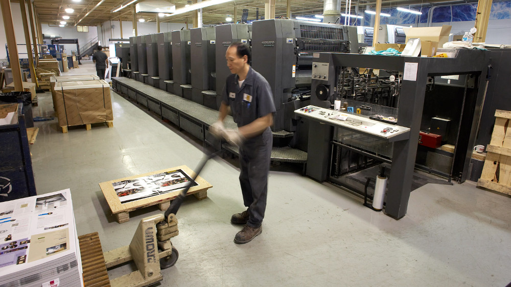 Production - Litho printers