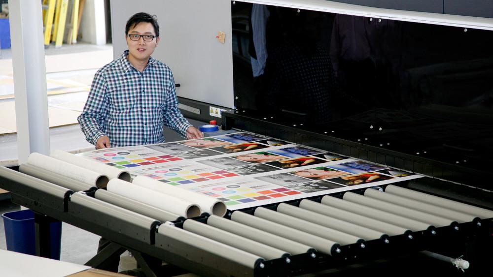 Production - Durst Rho colours