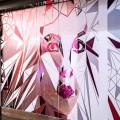 Wall mural (larger view) of Simons project at West Edmonton Mall. Project submitted by Figure3, wall mural desgin by Rollout.